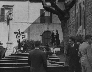 Viernes Santo 1948 - Desenclavo