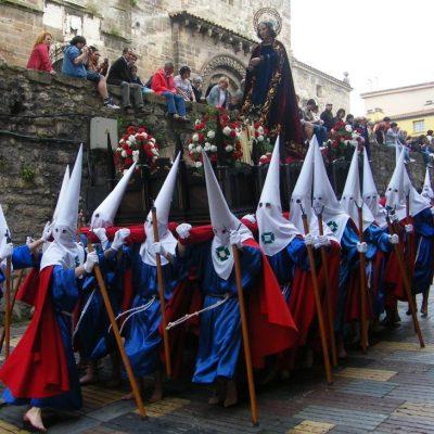 Paso de San Juan en la Calle la Ferrería